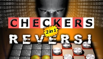 2in1 Checkers and Reversi