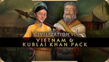 Sid Meier's Civilization® VI - Vietnam & Kublai Khan Civilization & Scenario Pack (Epic)