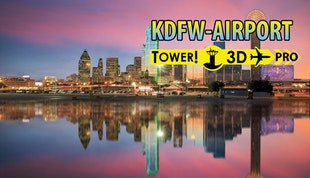 Tower!3D Pro - KDFW airport