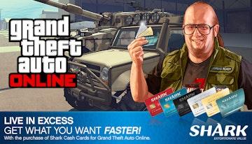 Grand Theft Auto Online : Red Shark Cash Card