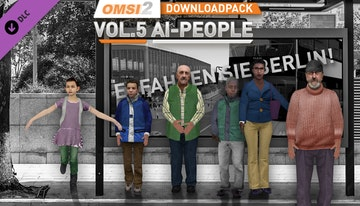 OMSI 2 Add-on Downloadpack Vol. 5 – KI-Menschen