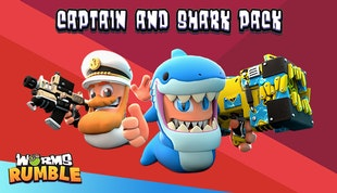 Worms Rumble: Captain & Shark Double Pack