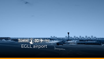 Tower!3D Pro - EGLL airport