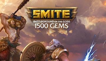 1500 SMITE Gems