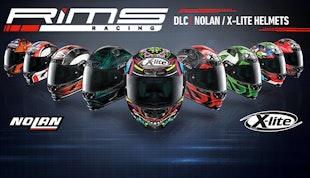 RiMS - 8X Nolan X-lite Helmets DLC