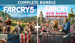 Far Cry® 5 + Far Cry® New Dawn Deluxe Edition Bundle (Complete Edition)