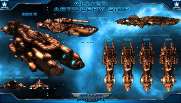 Stellar Impact: Artillery Ship DLC
