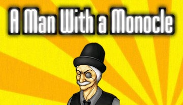 A Man with a Monocle