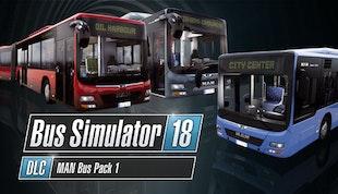 Bus Simulator 18 - MAN Bus Pack 1
