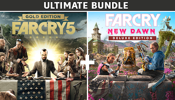 Far Cry® 5 Gold Edition + Far Cry ® New Dawn Deluxe Edition Bundle (Ultimate Edition)