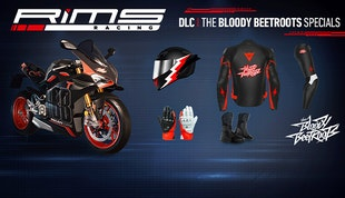 RiMS - Bloody Beetroots Bike and Rider DLC