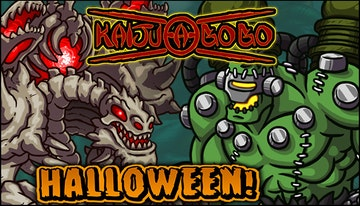 Kaiju-A-GoGo: Halloween Kaiju Skins