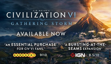 Sid Meier's Civilization® VI: Gathering Storm (Mac)