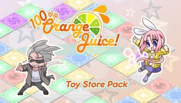 100% Orange Juice - Toy Store Pack