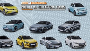OMSI 2 Add-on Downloadpack Vol. 11 – AI-Electric Cars