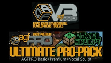 Axis Game Factory's AGFPRO + Voxel Sculpt + PREMIUM Bundle