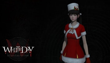 White Day - Christmas Costume - Ji-Min Yoo