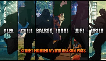Street Fighter V - Season 1 Character Pass