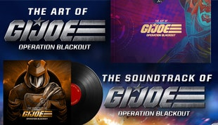 G.I. Joe: Operation Blackout - Digital Art Book and Soundtrack