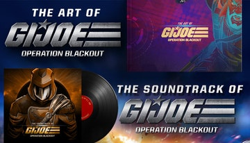 G.I. Joe: Operation Blackout - Digital Art Book and Soundtrack