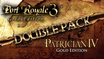 Double Pack: Port Royale 3 Gold / Patrician IV Gold