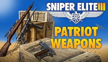 Sniper Elite 3 Patriot Weapons Pack