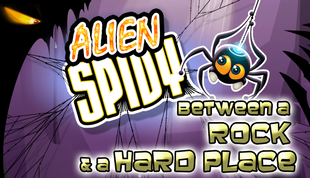 Alien Spidy: Between a Rock and a Hard Place