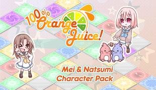 100% Orange Juice - Mei & Natsumi Character Pack