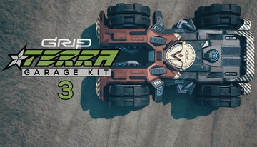 GRIP: Combat Racing - Terra Garage Kit 3