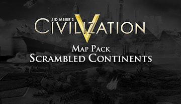 Sid Meier's Civilization V: Scrambled Continents Map Pack (Mac & Linux)