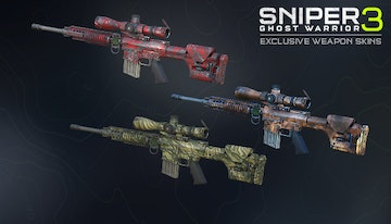 Sniper Ghost Warrior 3 – Death Pool weapon skin pack
