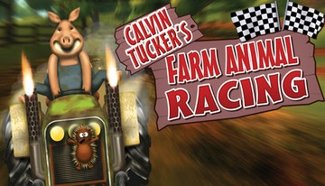 Calvin Tucker's Farm Animal Racing