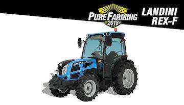 Pure Farming 2018 - Landini REX-F