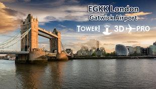 Tower!3D Pro - EGKK airport