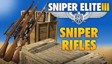 Sniper Elite 3 Sniper Rifle Weapons Pack