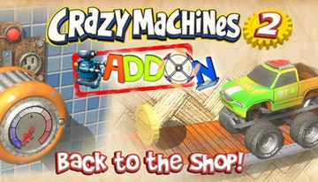 Crazy Machines 2: Back to the Shop (Add-On)