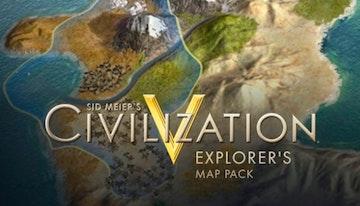 Sid Meier's Civilization® V: Explorers Map Pack (Mac)