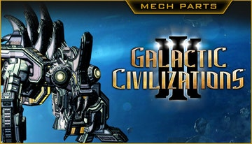 Galactic Civilizations III – The Mech Parts Kit