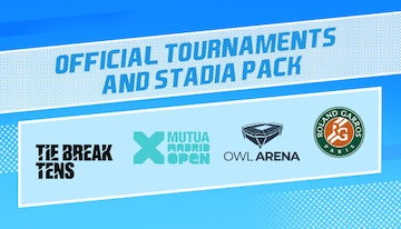 Tennis World Tour 2 - Official Tournaments and Stadia Pack
