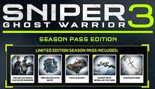 Sniper Ghost Warrior 3 + Season Pass