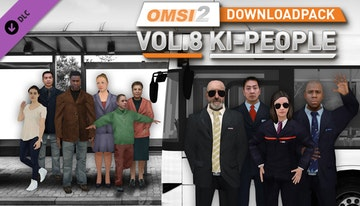 OMSI 2 Add-on Downloadpack Vol. 8 – KI-People
