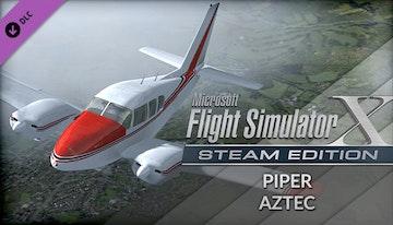 Microsoft Flight Simulator X: Steam Edition: Piper Aztec Add-On