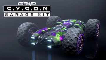 GRIP: Combat Racing - Cygon Garage Kit