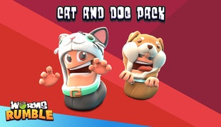 Worms Rumble - Cats & Dogs Double Pack
