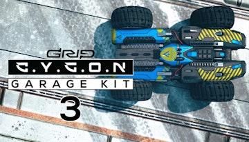 GRIP: Combat Racing - Cygon Garage Kit 3